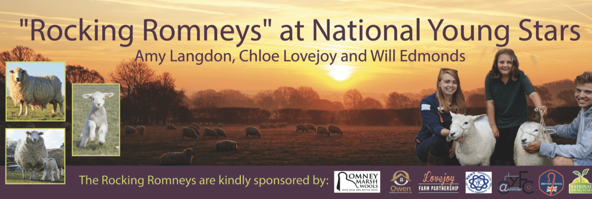 Banner design for Romney team at National Young Stars