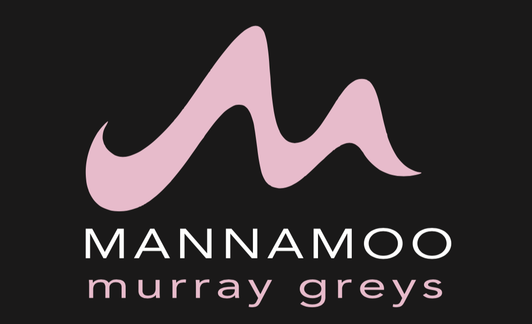 Logo design for Mannamoo Murray Greys